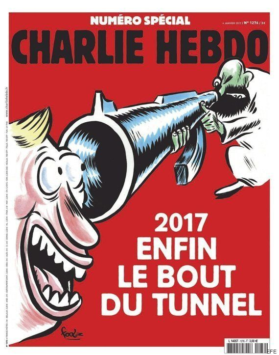 'Charlie Hebdo', fiel al humor negro en el segundo recordatorio de la matanza de
