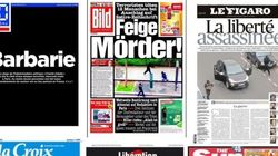 La prensa francesa e internacional homenajea a 'Charlie Hebdo'