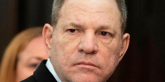 El productor Harvey Weinstein, fotografiado el 25 de mayo en Nueva York en la Manhattan Criminal