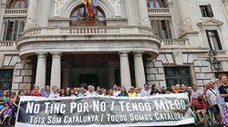 El detalle de la pancarta de la manifestación en Valencia que más comentarios está