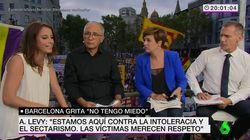 Andrea Levy, abucheada mientras intervenía en directo en