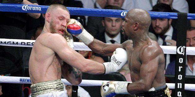 Mayweather - McGregor: las brutales imágenes del combate del