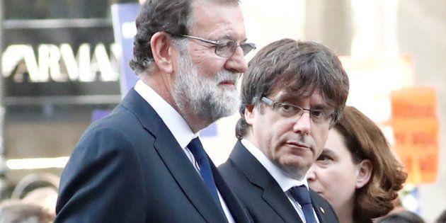 Rajoy pide a Puigdemont que renuncie