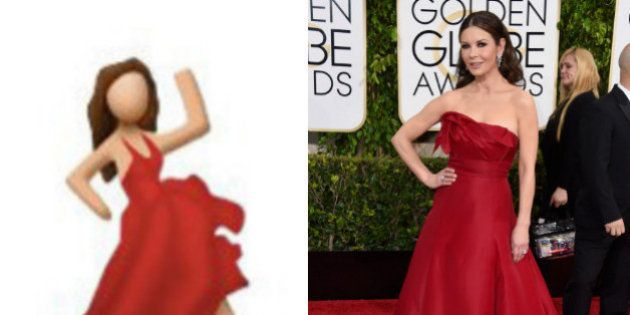 El meme de los Globos de Oro: Catherine Zeta Jones es la flamenca de