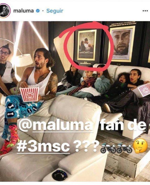 La extraña conexión entre Maluma y Mario