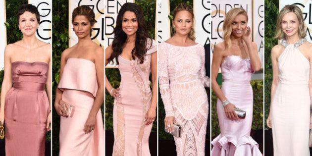El pantone de los Globos de Oro 2015: los vestidos de la gala organizados por colores
