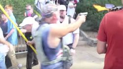 El vídeo de un nazi disparando a antifascistas que indigna en