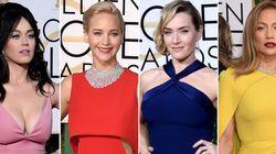 Globos de Oro 2016: todos los vestidos de la gala