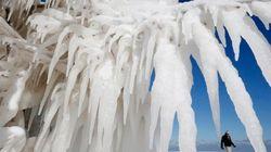'Naturaleza helada' y otras 13 fotos del lunes que no te puedes