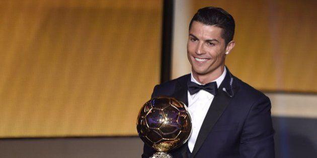 Cristiano Ronaldo, ganador del Balón de Oro