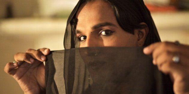 Rehana, una transexual de Karachi, en una imagen de