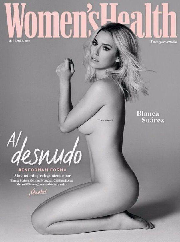 El desnudo integral de Blanca Suárez para la portada de 'Women's