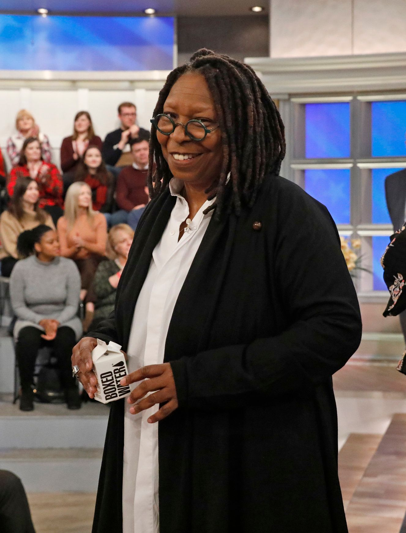 THE VIEW - Chris Christie is the guest on ABC's 'The View' Wednesday, January 30, 2019.   'The View' airs Monday-Friday (11:00 am-12:00 noon, ET) on the ABC Television Network.     (Photo by Heidi Gutman/ABC via Getty Images) WHOOPI GOLDBERG