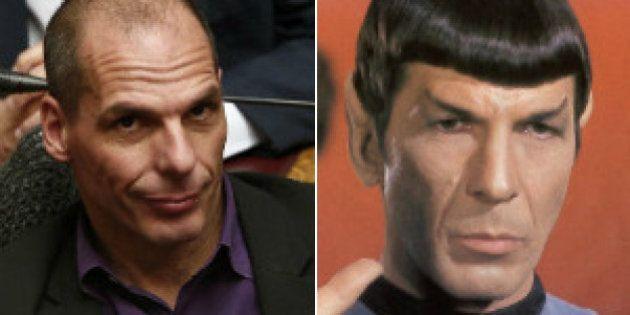 El parecido más que razonable entre Varoufakis y Spock