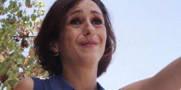 Juana Rivas expresa su confianza en la Justicia tras entregar a sus dos