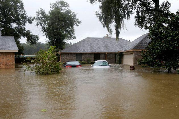 Al menos 8 muertos en Texas por Harvey y miles de personas esperan