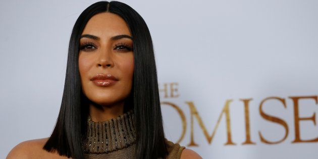 Kim Kardashian en un estreno en Los Angeles, California, en abril de