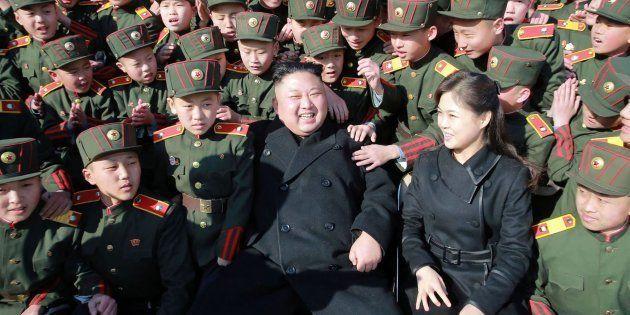 Imagen de archivo de Kim Jong-Un y su mujer, Ri
