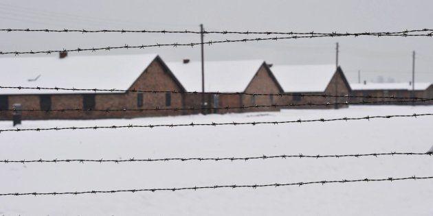 Campo de concentración de Auschwitz-Birkenau, en una imagen de