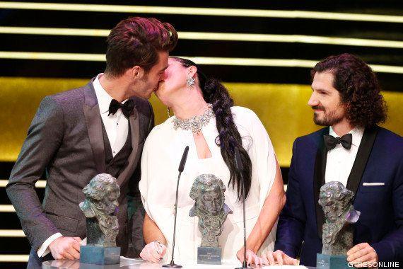 Premios Goya 2015: el beso de Dani Rovira y Clara Lago y otros momentazos de la gala