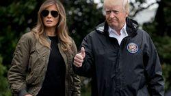Trump pone rumbo a Texas para evaluar los daños de