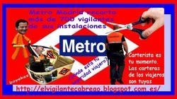 El conflicto de la seguridad privada se extiende a Metro de