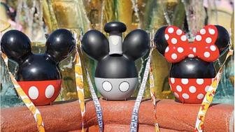 Themed popcorn buckets have been a huge hit at Disney World and Disneyland parks.