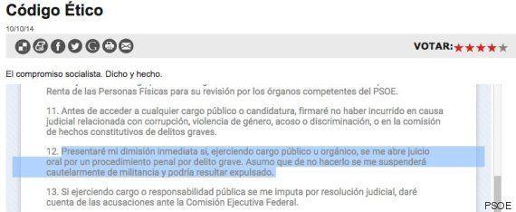 El PSOE rechaza pedir la dimisión de Chaves y Griñán hasta que se les impute algún