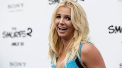 Britney Spears posa sin maquillaje (o