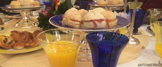 Tania Sánchez y el ritual del desayuno