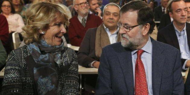 El PP dice que Aguirre pactó dejar la presidencia del partido si es