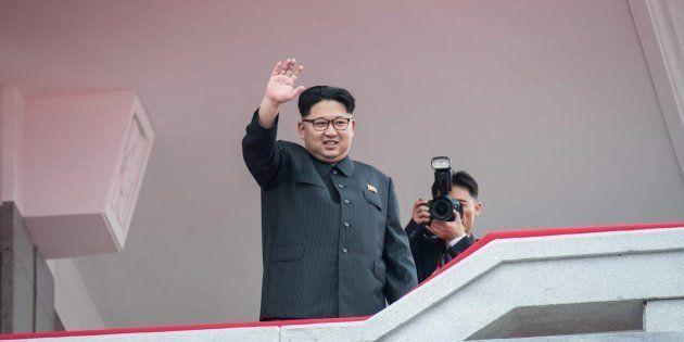 Imagen de archivo del líder norcoreano Kim