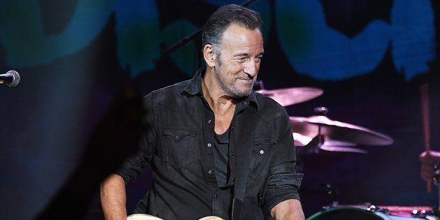Bruce Springsteen durante un concierto en New Jersey en abril de