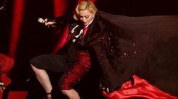 Madonna, la culpa fue
