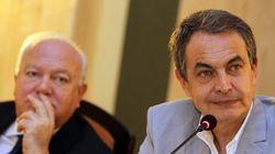 Zapatero elude el enfrentamiento con Margallo por su viaje a