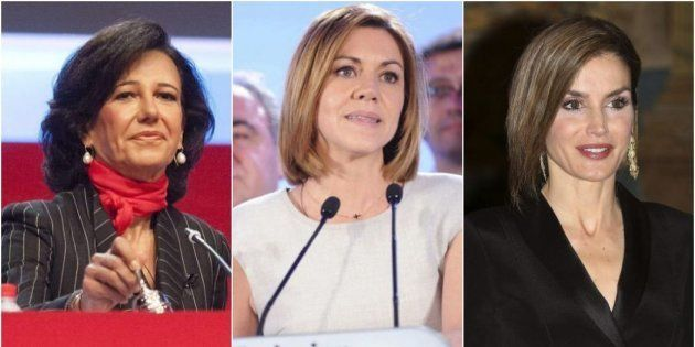 Ana Patricia Botín, María Dolores de Cospedal y la reina Letizia, todas entre las 10 primeras de la lista...