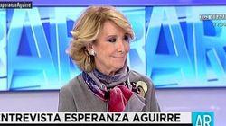 Aguirre dice que si es alcaldesa no se presentará a presidir el PP de