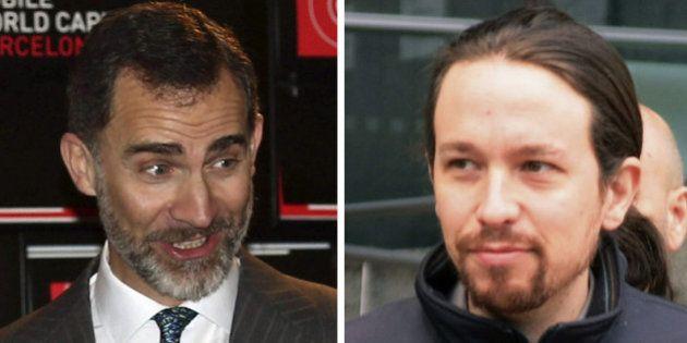 Pablo Iglesias cree que Felipe VI ganaría unas elecciones a Jefe de