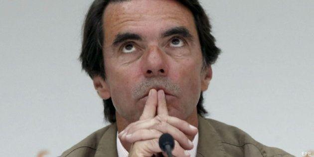 Podemos se querellará contra Aznar por acusarles de financiación