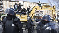 Once detenidos en el derribo de una vivienda en Madrid