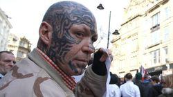 El movimiento islamófobo Pegida llega con poca fuerza a Inglaterra