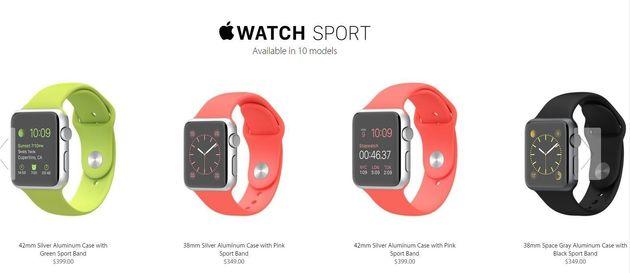 Apple Watch: precios y dónde
