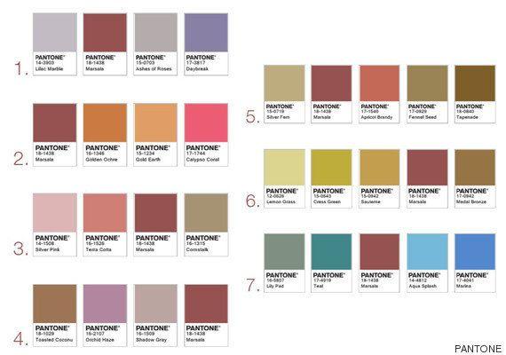 ¿Cómo elige Pantone el color del año y por qué el Marsala es el color de