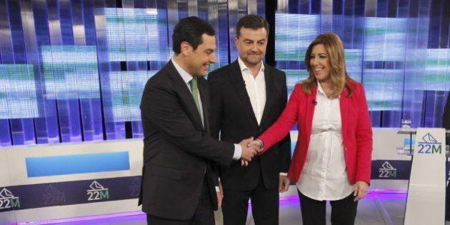 Debate electoral en Andalucía: