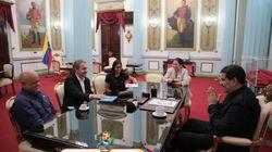 Zapatero se reúne de nuevo con Maduro y la jefa de la Constituyente en
