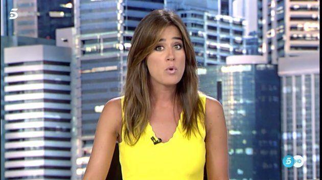 Isabel Jiménez confirma con una foto que los presentadores de informativos van en