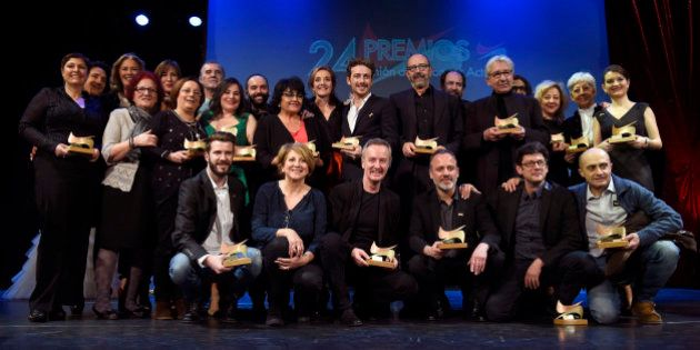 La Unión de Actores consolida el éxito de 'La isla mínima' y premia a José