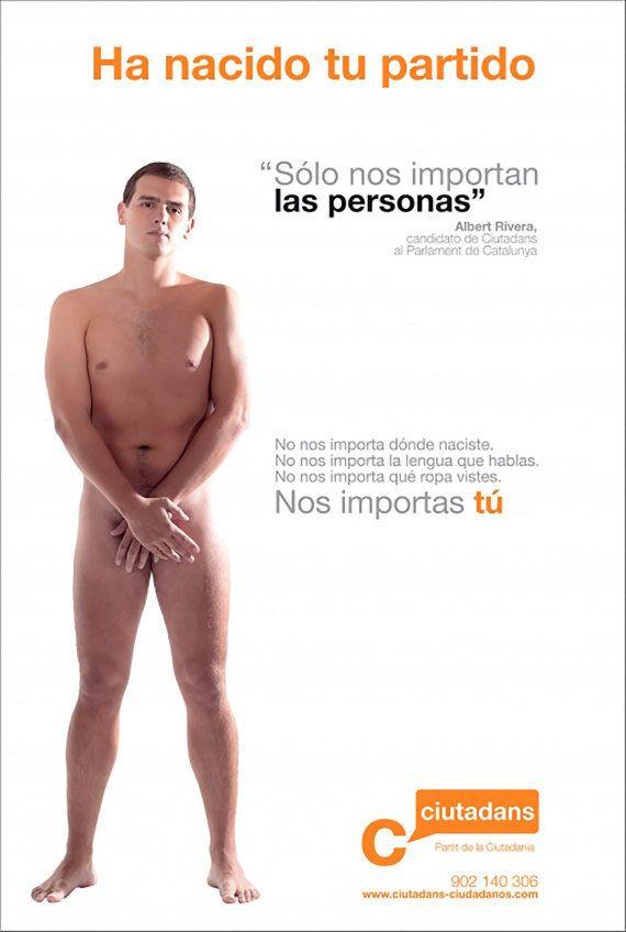 La candidata del Partido Libertad-Manos Limpias en Portugalete se desnuda contra la