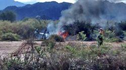 Tres deportistas franceses mueren en un accidente de helicóptero en