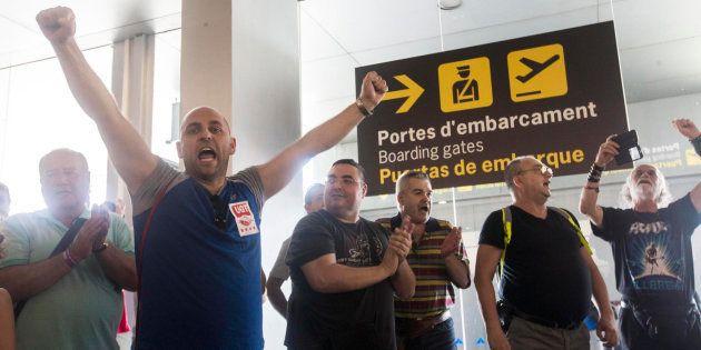 El laudo de El Prat obliga a Eulen a dar un complemento de 200 euros a sus agentes de